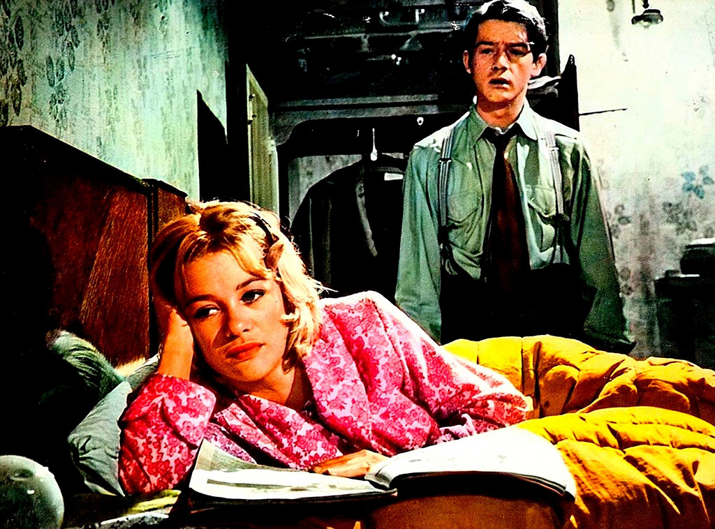 John Hurt as Timothy Evans with Judy Geeson as his wife Beryl in 10 Rillington Place (1971)