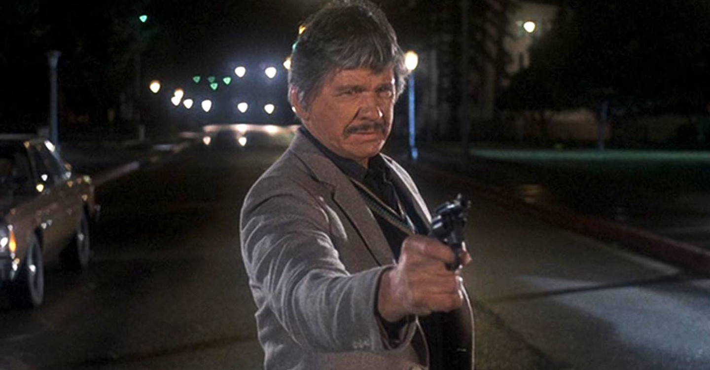 Detective Leo Kessler (Charles Bronson) come to sort out business in 10 to Midnight (1983)