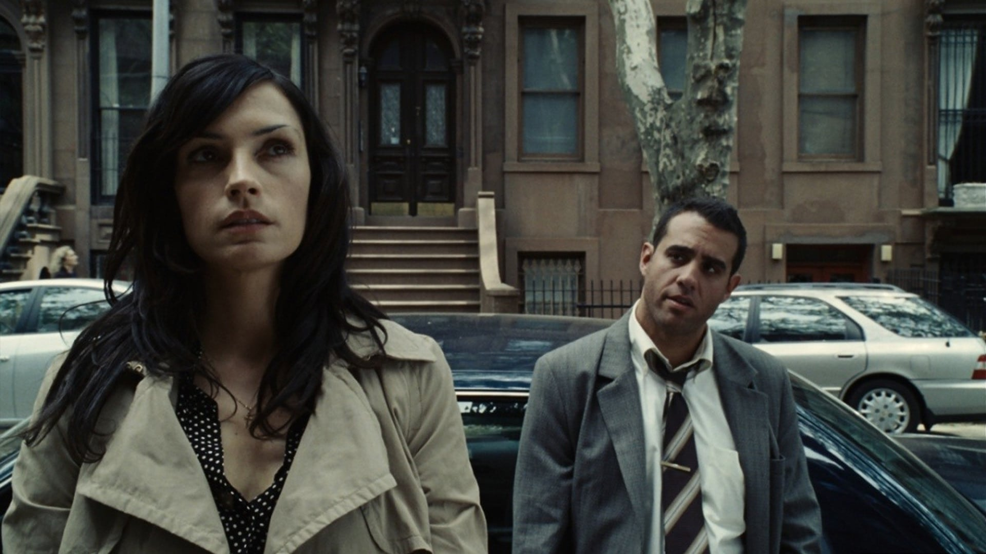 Famke Janssen and detective Bobby Cannavale in 100 Feet (2008)