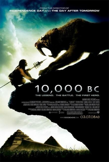10,000 BC (2008) poster