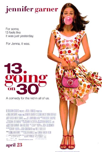 13 Going on 30 (2004) poster