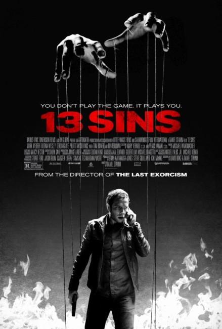 13 Sins (2014) poster
