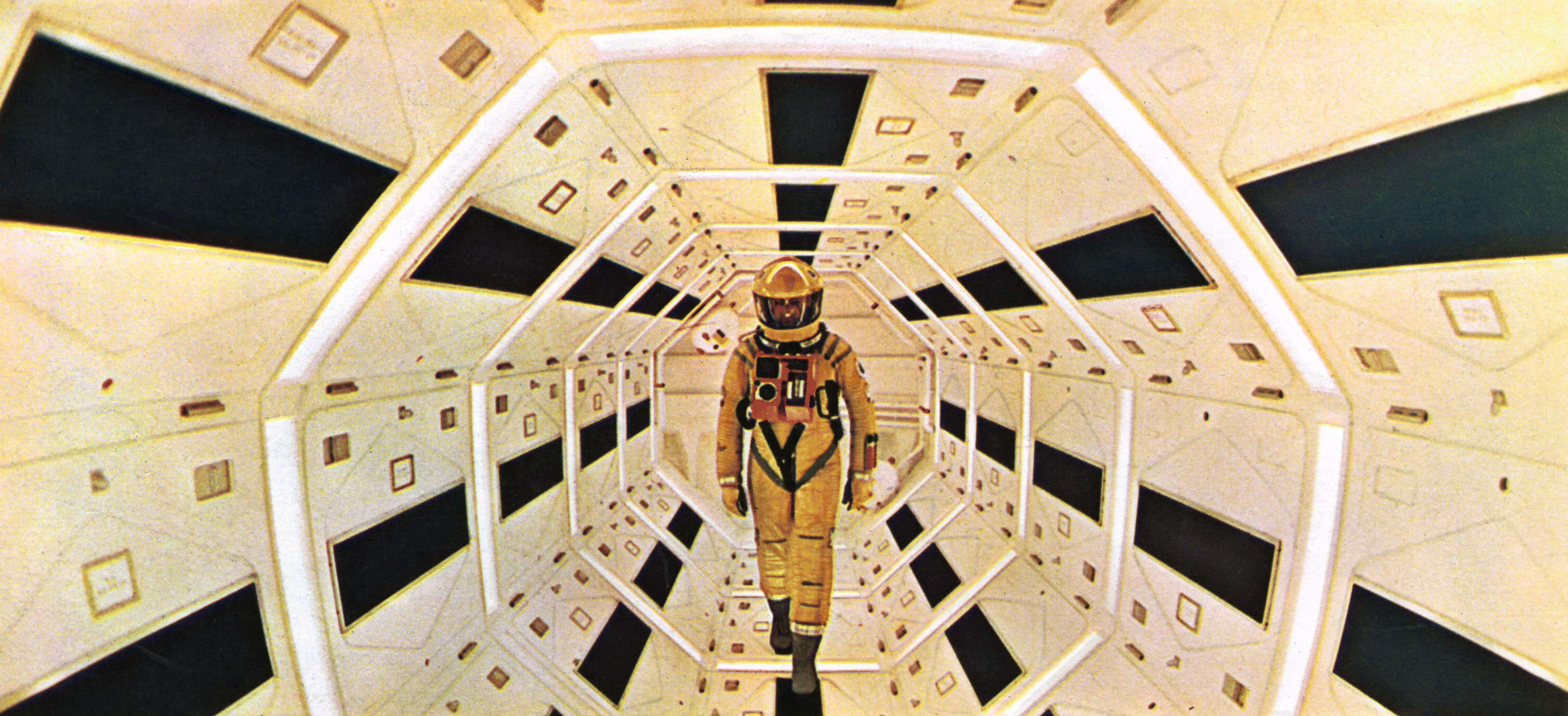 Aboard The Discovery in 2001: A Space Odyssey (1968)