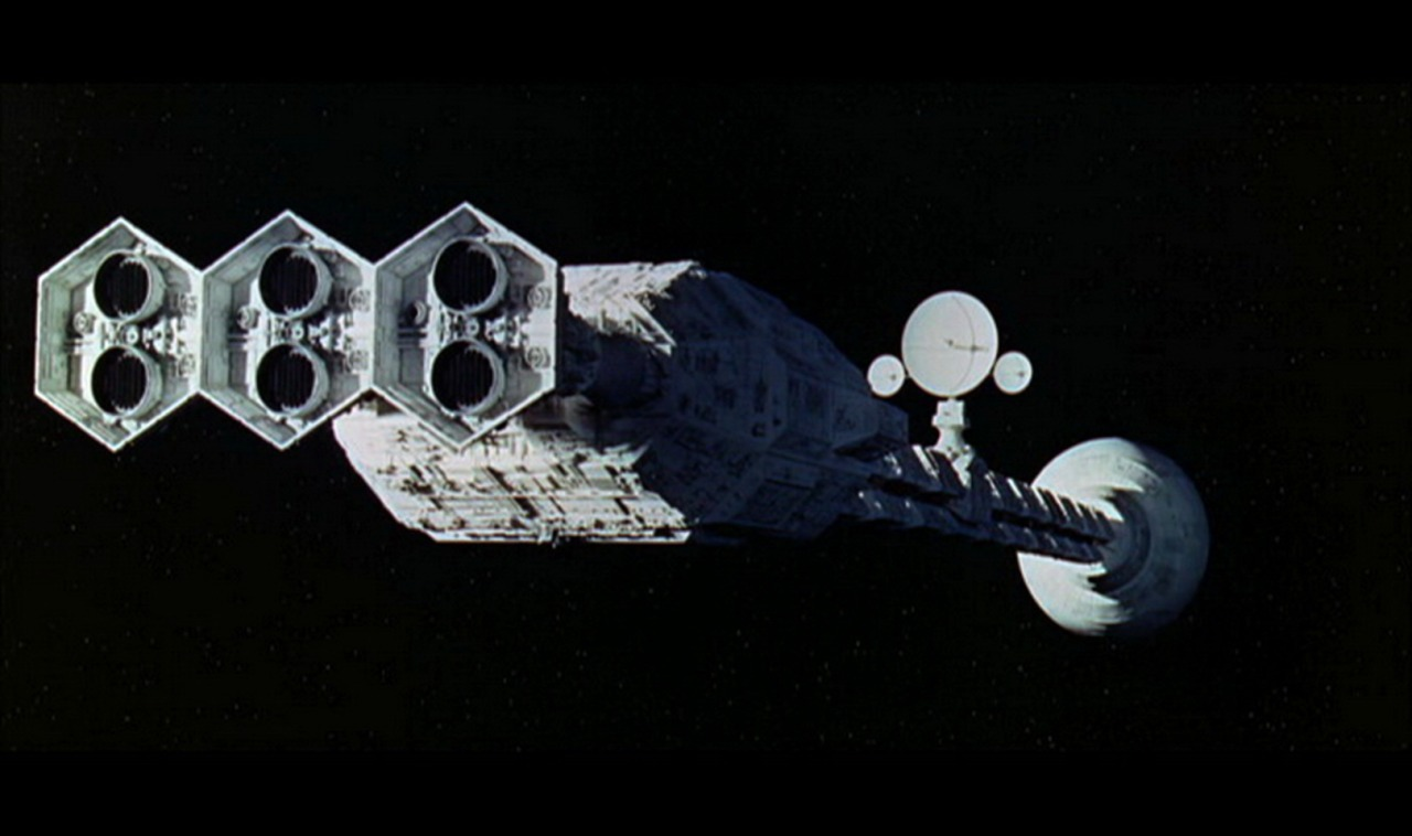 The Discovery in 2001: A Space Odyssey (1968)