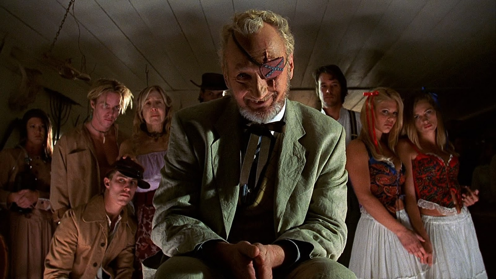 Robert Englund as the mayor in 2001 Maniacs (2005)