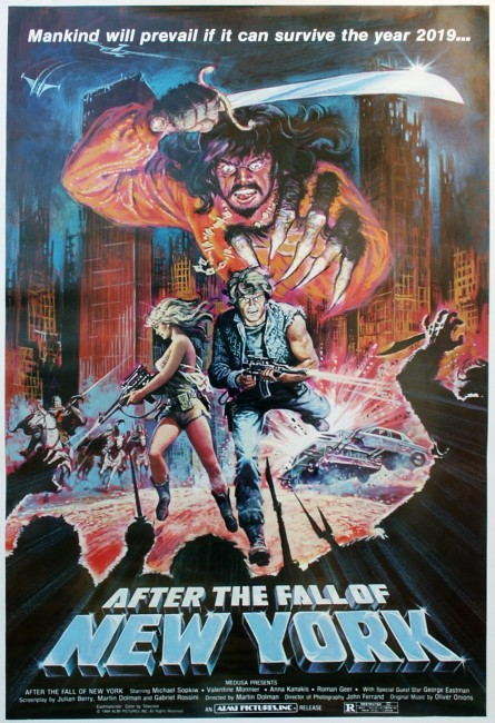 2019: After the Fall of New York (1983) poster