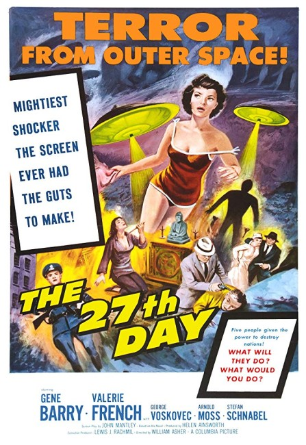 The 27th Day (1957) poster