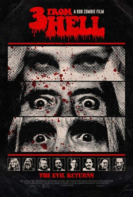 3 from Hell (2019) poster