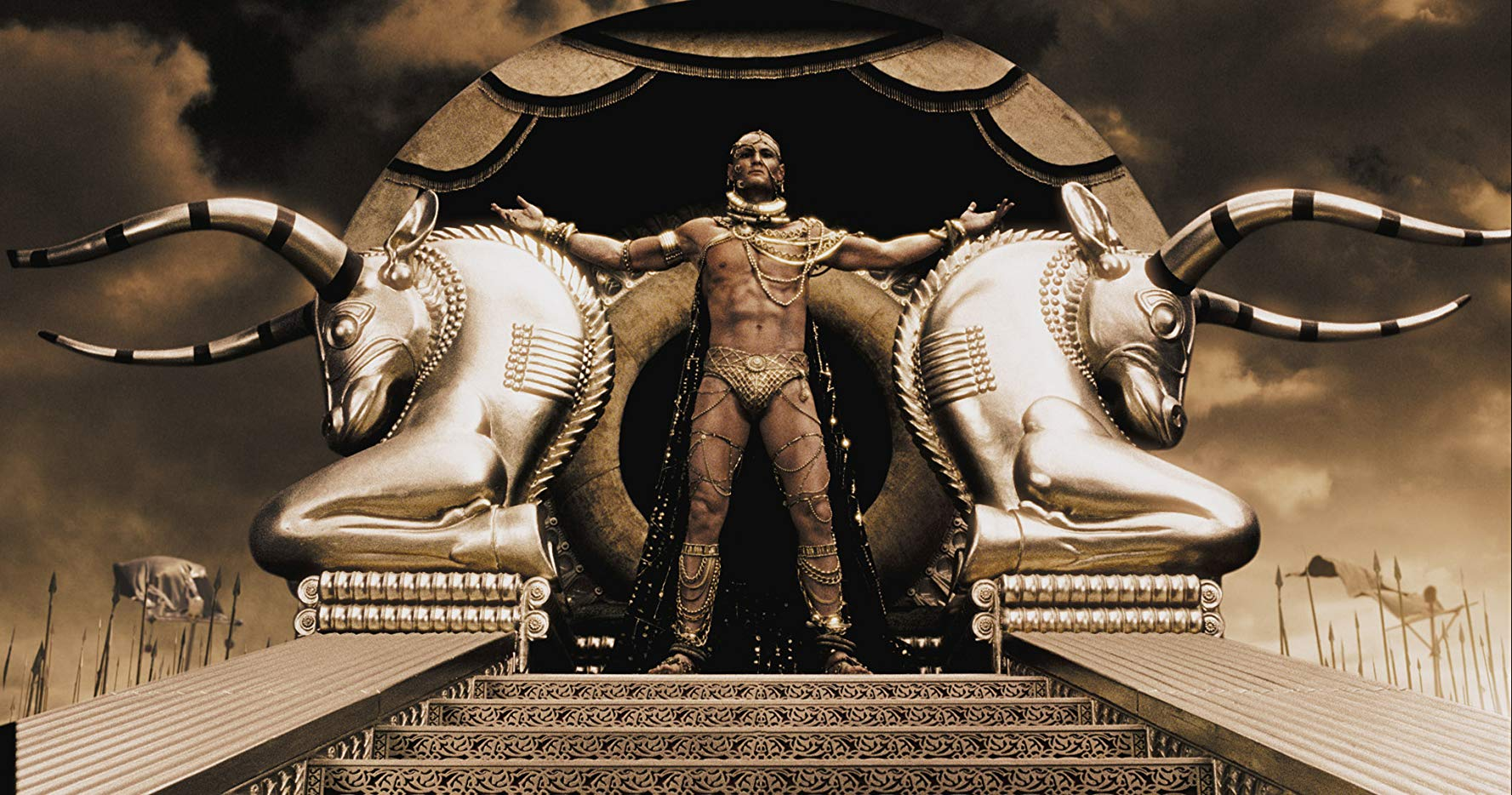 King Xerxes (Rodrigo Santoro) in 300 (2007)