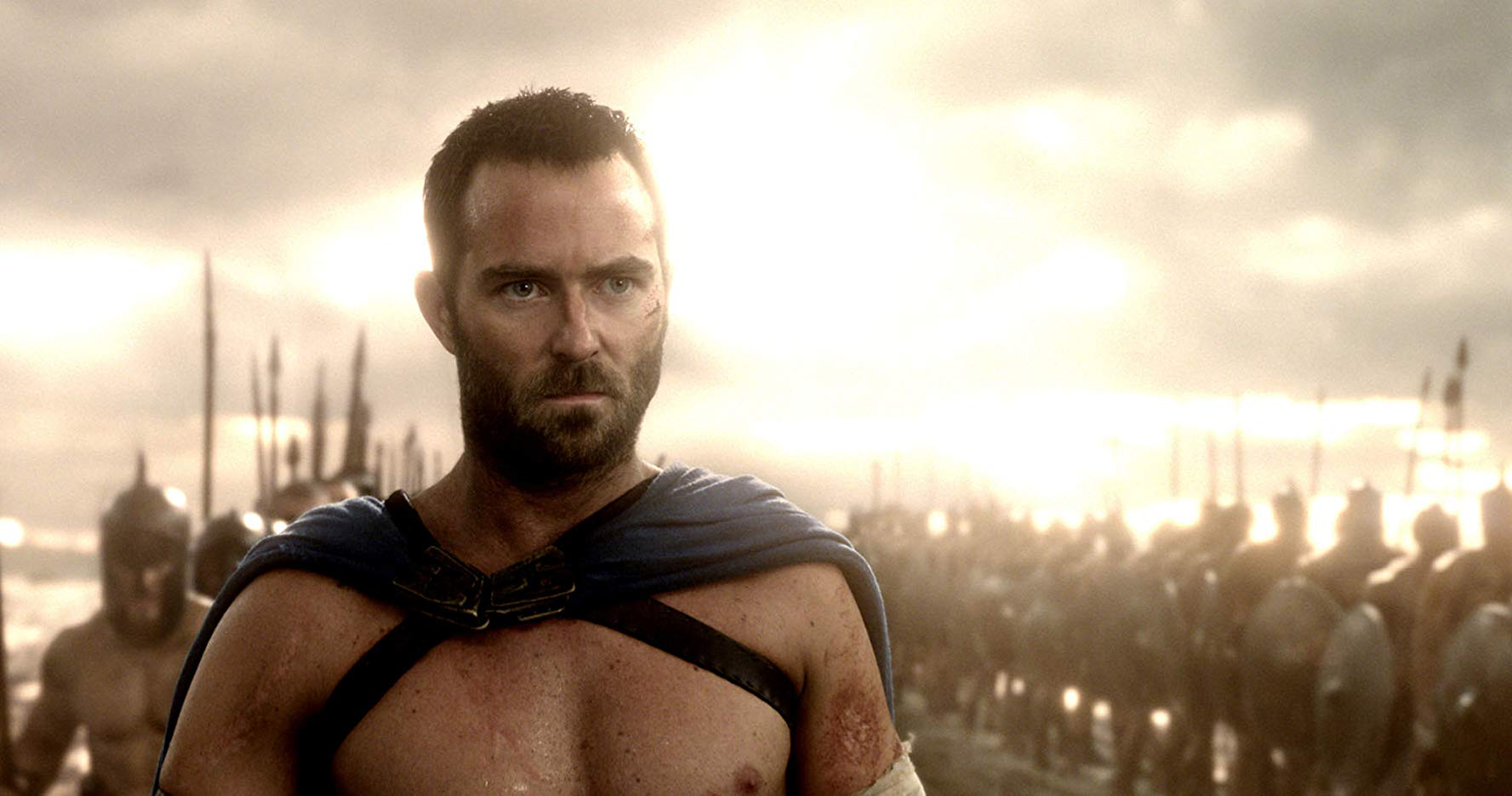 Sullivan Stapleton as the Greek general Themistocles in 300: Rise of an Empire (2014)