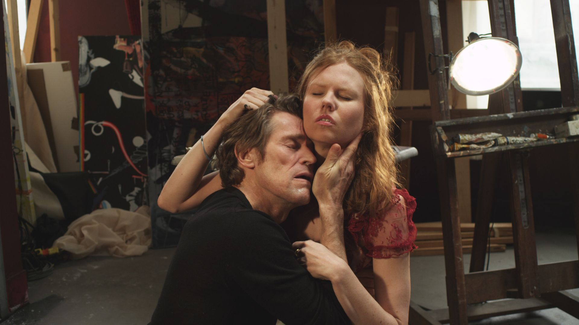 Willem Dafoe and Shanyn Leigh spend their last hours together in 4:44 Last Day on Earth (2011)