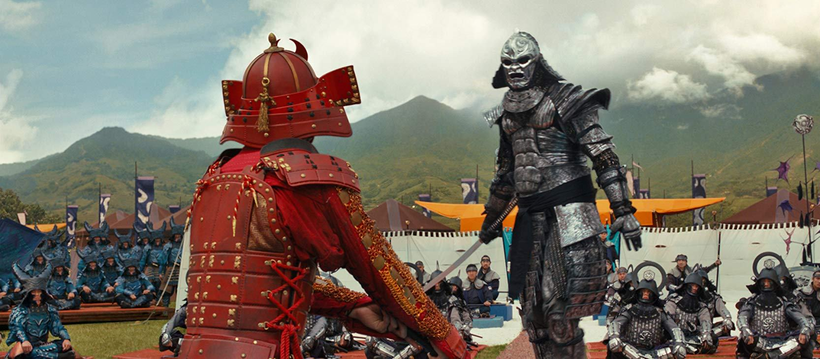 Showdown between rival sides in 47 Ronin (2013)