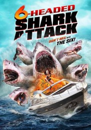 6-Headed Shark Attack (2018) poster