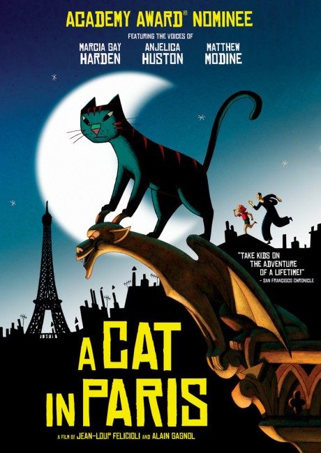 A Cat in Paris (2011) poster