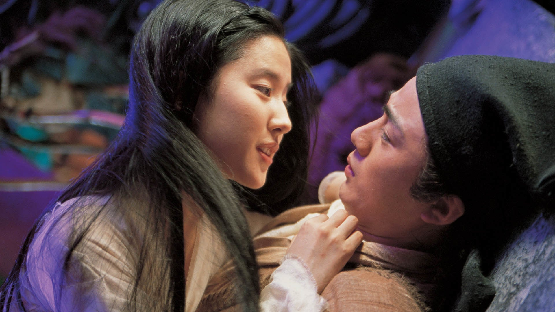 Yu Siu Kwan and Liu Yi Fei in A Chinese Ghost Story (2011)