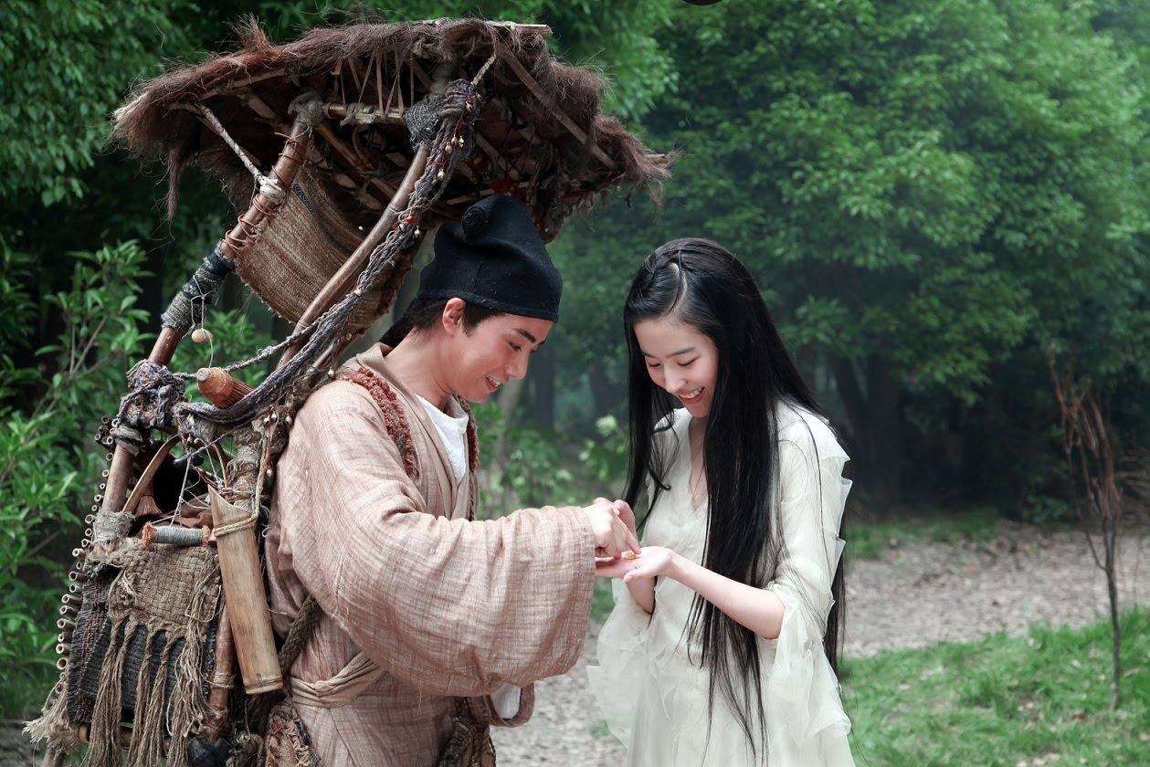 Yu Siu Kwan meets Liu Yi Fei in A Chinese Ghost Story (2011)