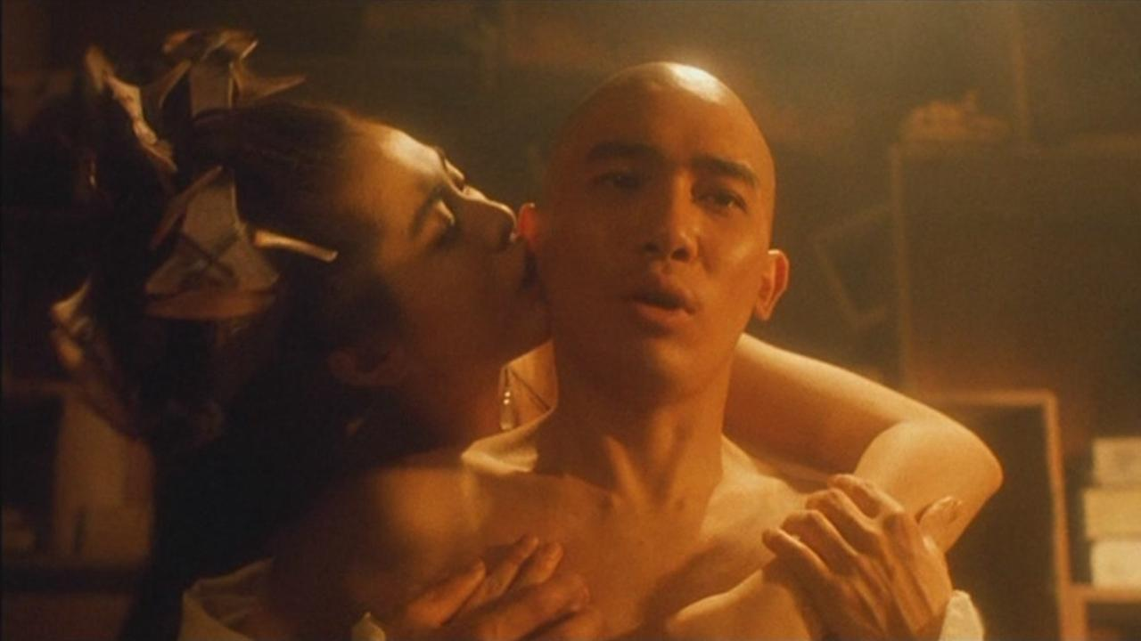 Tony Leung Chiu Wai and Joey Wong in A Chinese Ghost Story III (1991)