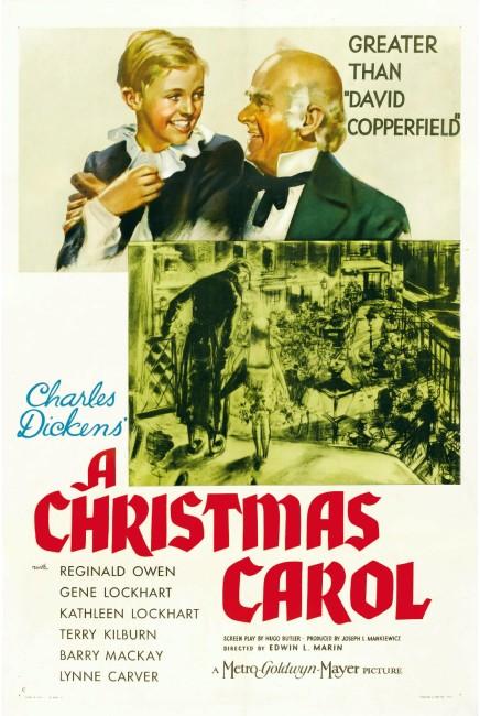 A Christmas Carol (1938) poster