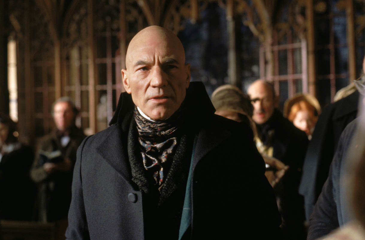 Patrick Stewart as Scrooge in A Christmas Carol (1999)
