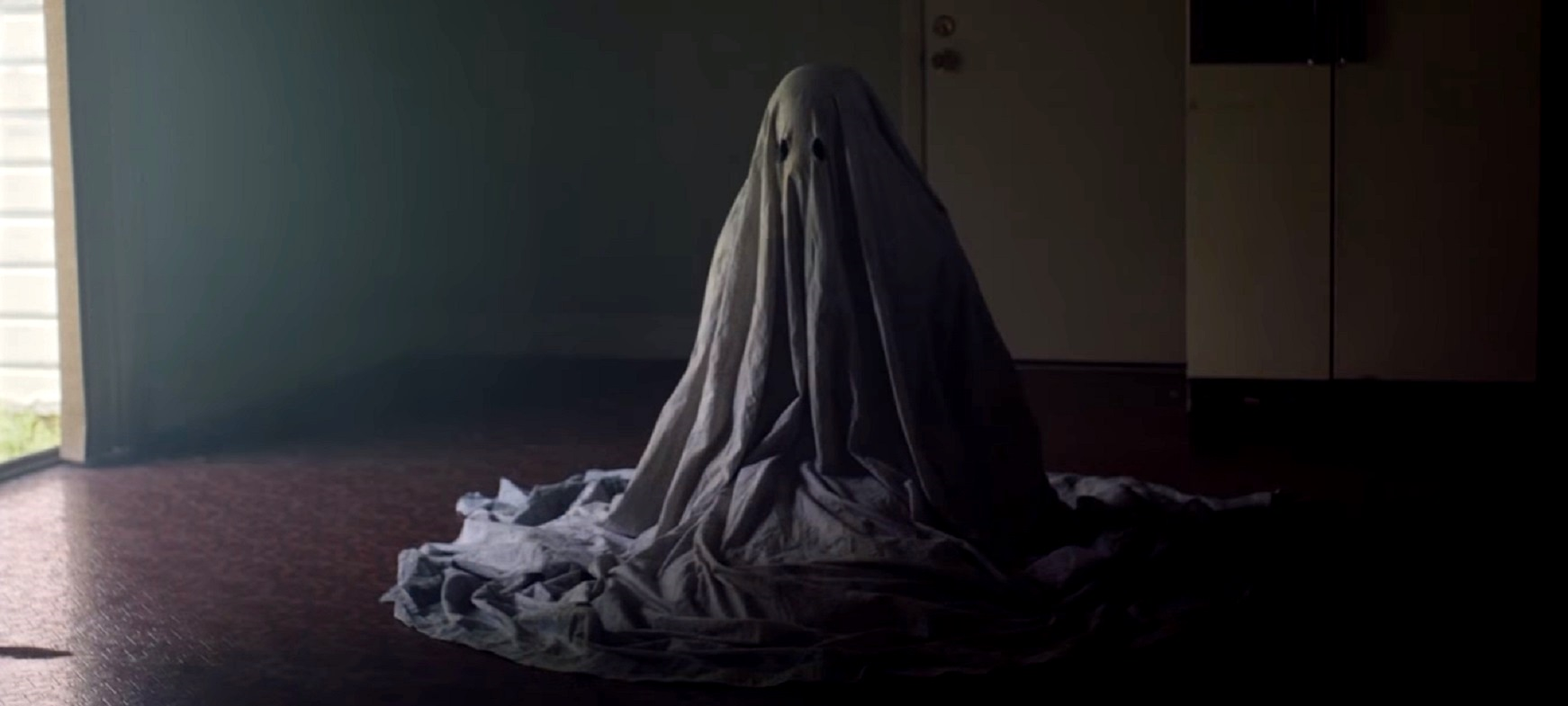 Casey Affleck as the ghost of C in A Ghost Story (2017)