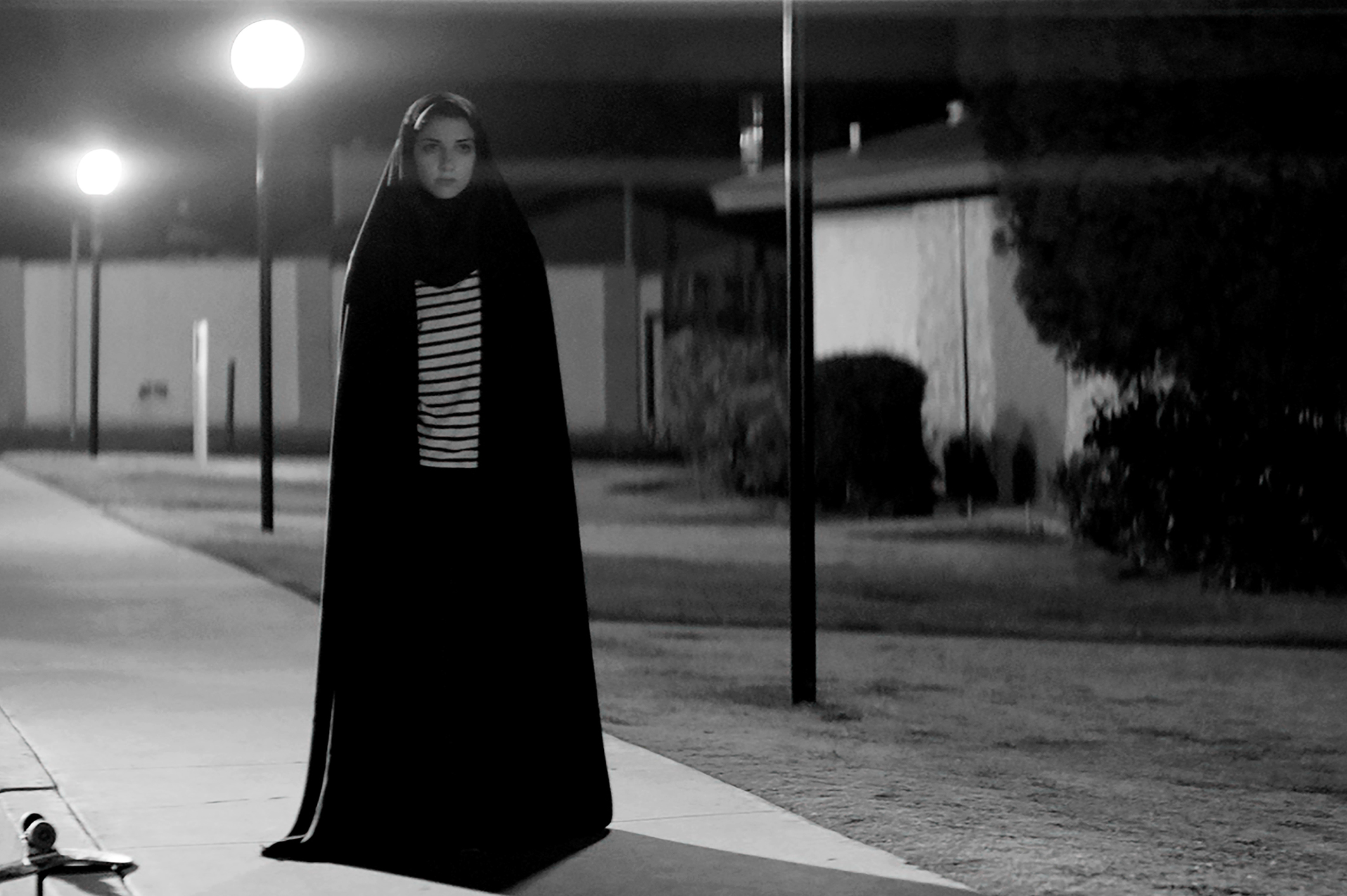 Sheila Vand in A Girl Walks Home Alone at Night (2014)