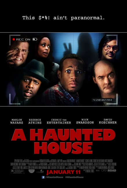 A Haunted House (2013) poster