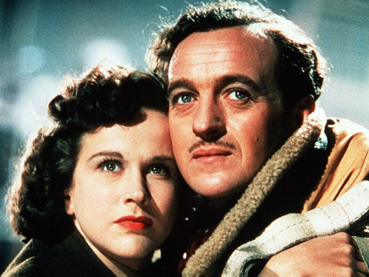 Kim Hunter and David Niven in A Matter of Life and Death (1946)