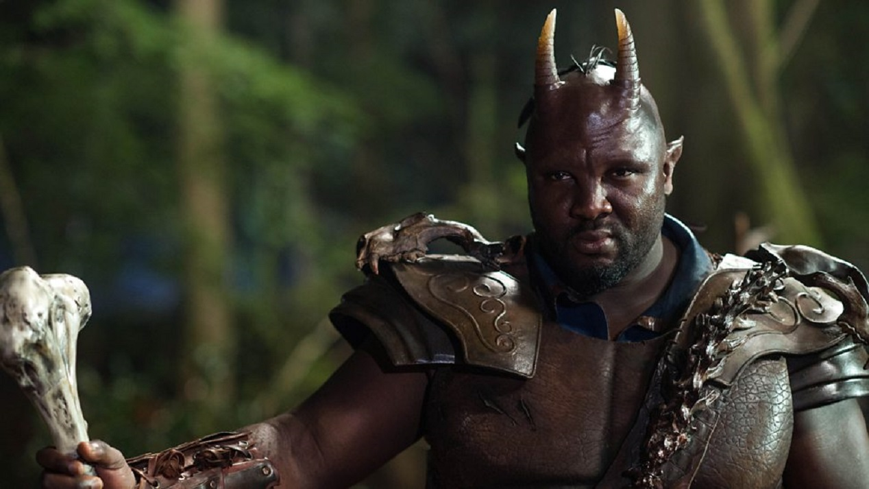 Nonzo Anozie as Oberon in A Midsummer Night's Dream (2016)