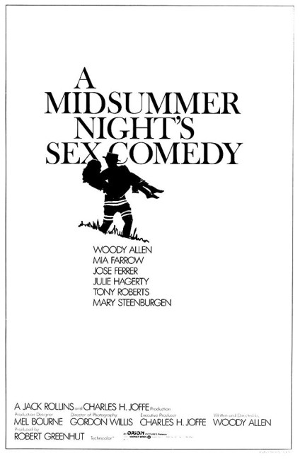 A Midsummer Night's Sex Comedy (1982) poster