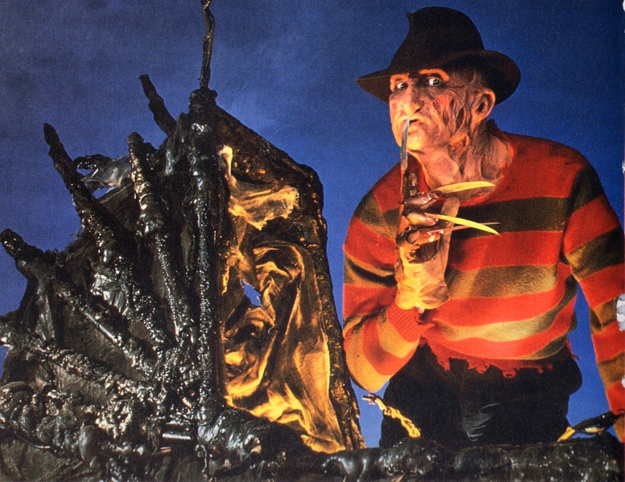 Freddy Krueger (Robert Englund) in A Nightmare on Elm Street: The Dream Child (1989)