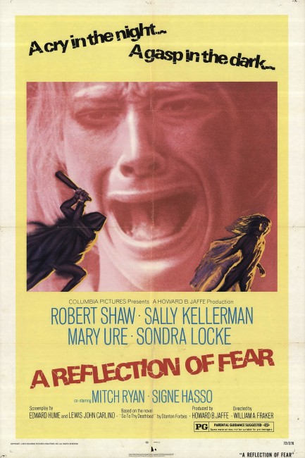 A Reflection of Fear (1971) poster