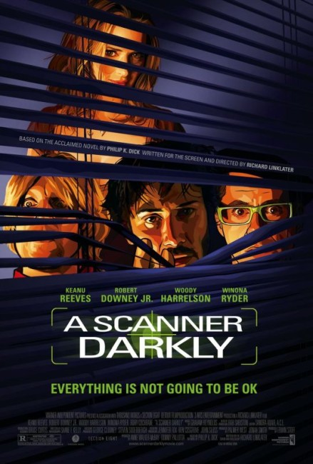 A Scanner Darkly (2006) poster
