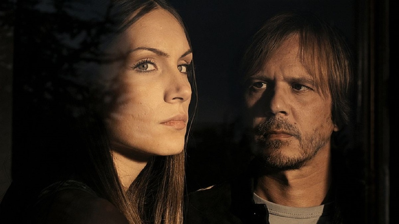 Srdan Todorovich and his wife Jelena Gavrilovic in A Serbian Film (2010)