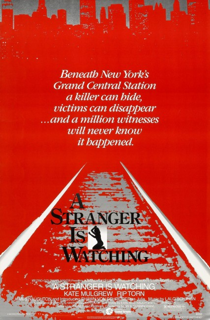 A Stranger is Watching (1982) poster