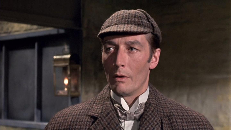 John Neville as Sherlock Holmes in A Study in Terror (1965)