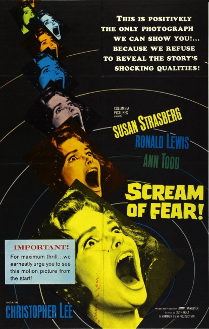 A Taste of Fear (1961) poster