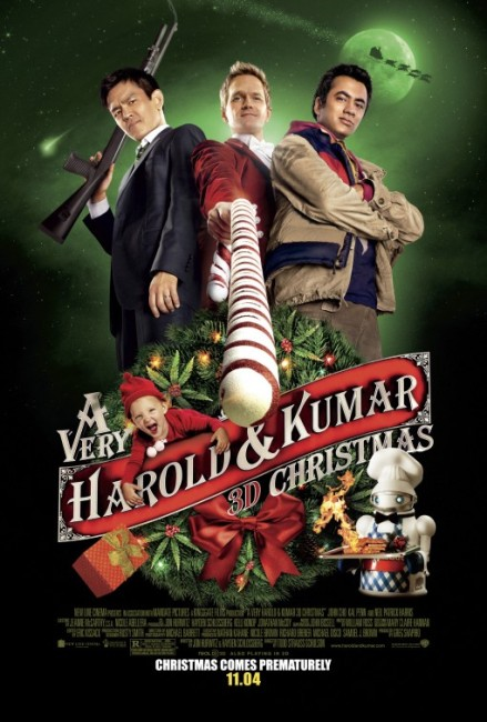 A Very Harold and Kumar 3D Christmas (2011) poster