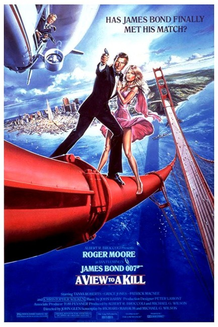A View to a Kill (1985) poster