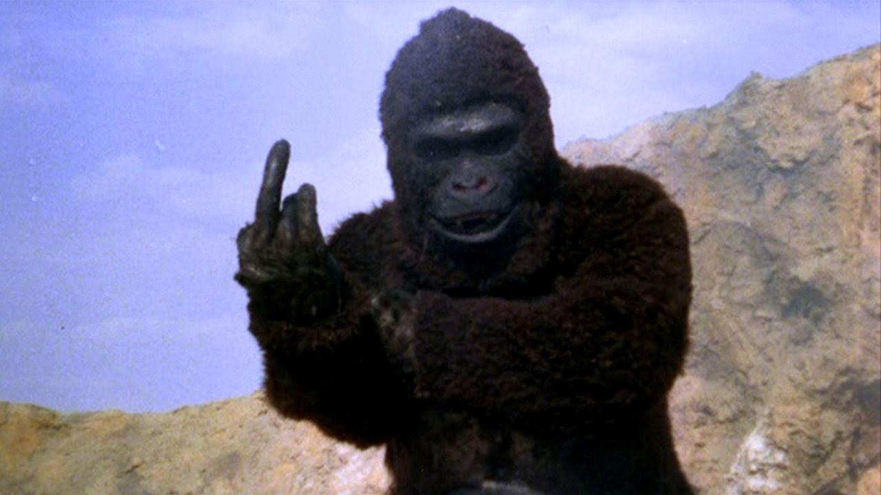 The giant ape in A.P.E. (1976)
