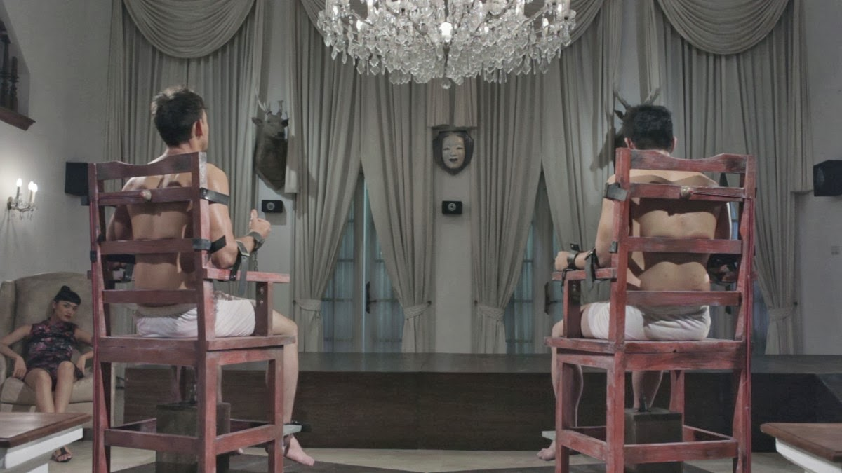 Masturbation competitions from Timo Tjahjanto's L is for Libido episode of The ABCs of Death (2012)