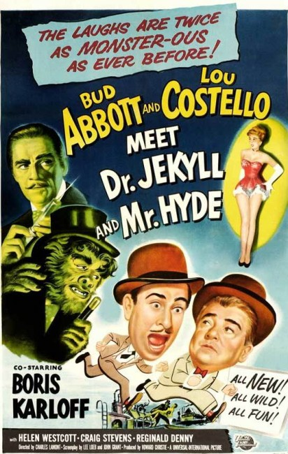 Abbott and Costello Meet Dr Jekyll and Mr Hyde (1953) poster