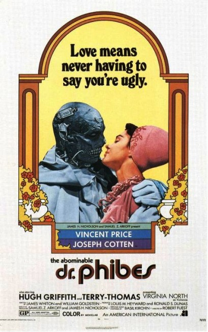 The Abominable Dr Phibes (1971) poster