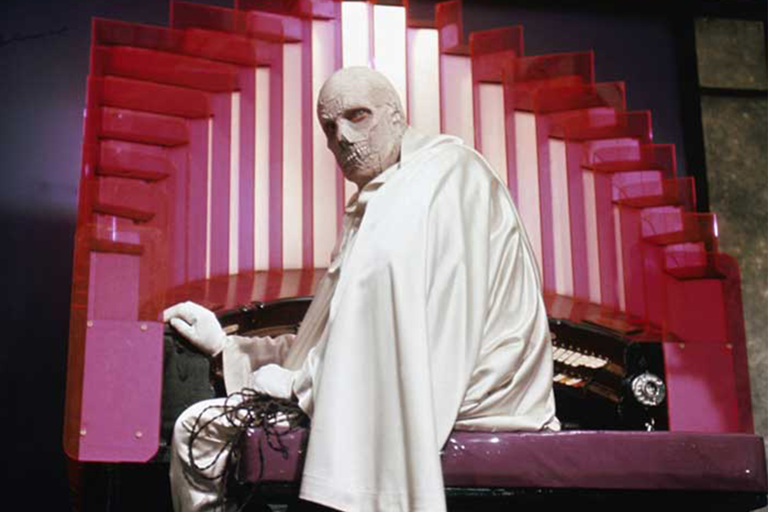 Vincent Price in the best performance of his career as The Abominable Dr Phibes (1971)