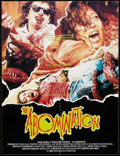 The Abomination (1986) poster