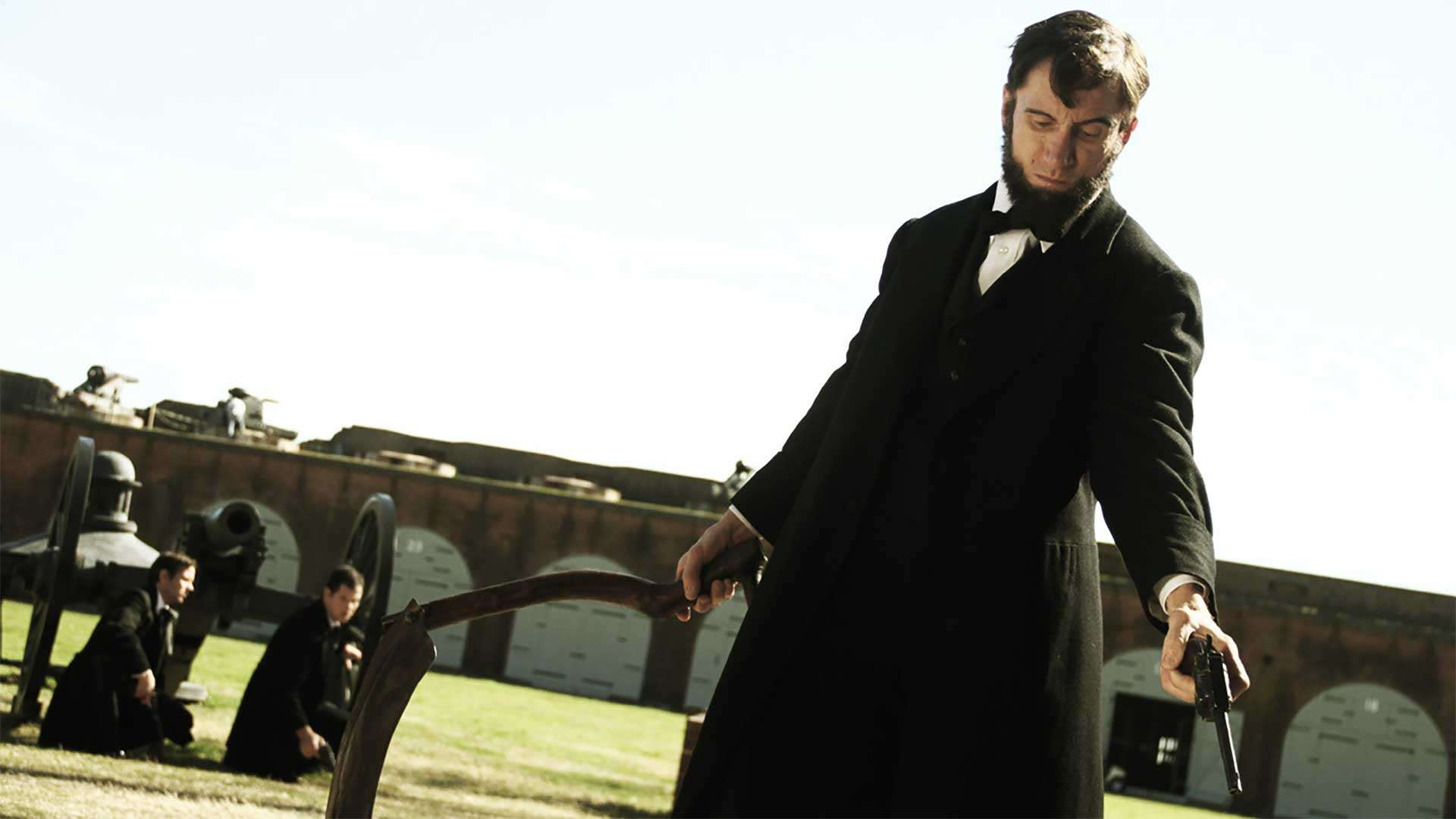 Bill Oberst, Jr. in Abraham Lincoln vs. Zombies (2012)