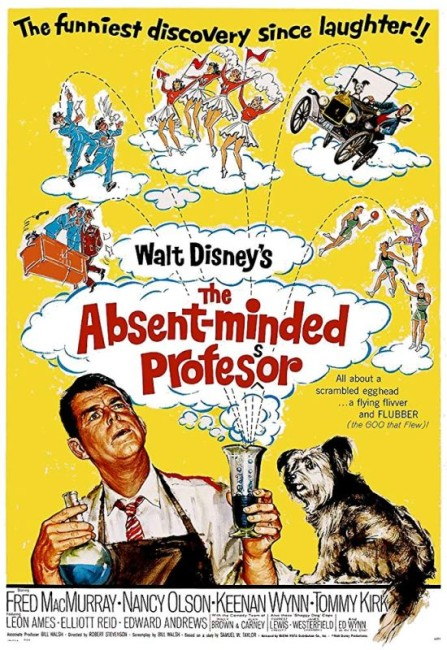 The Absent-Minded Professor (1961) poster