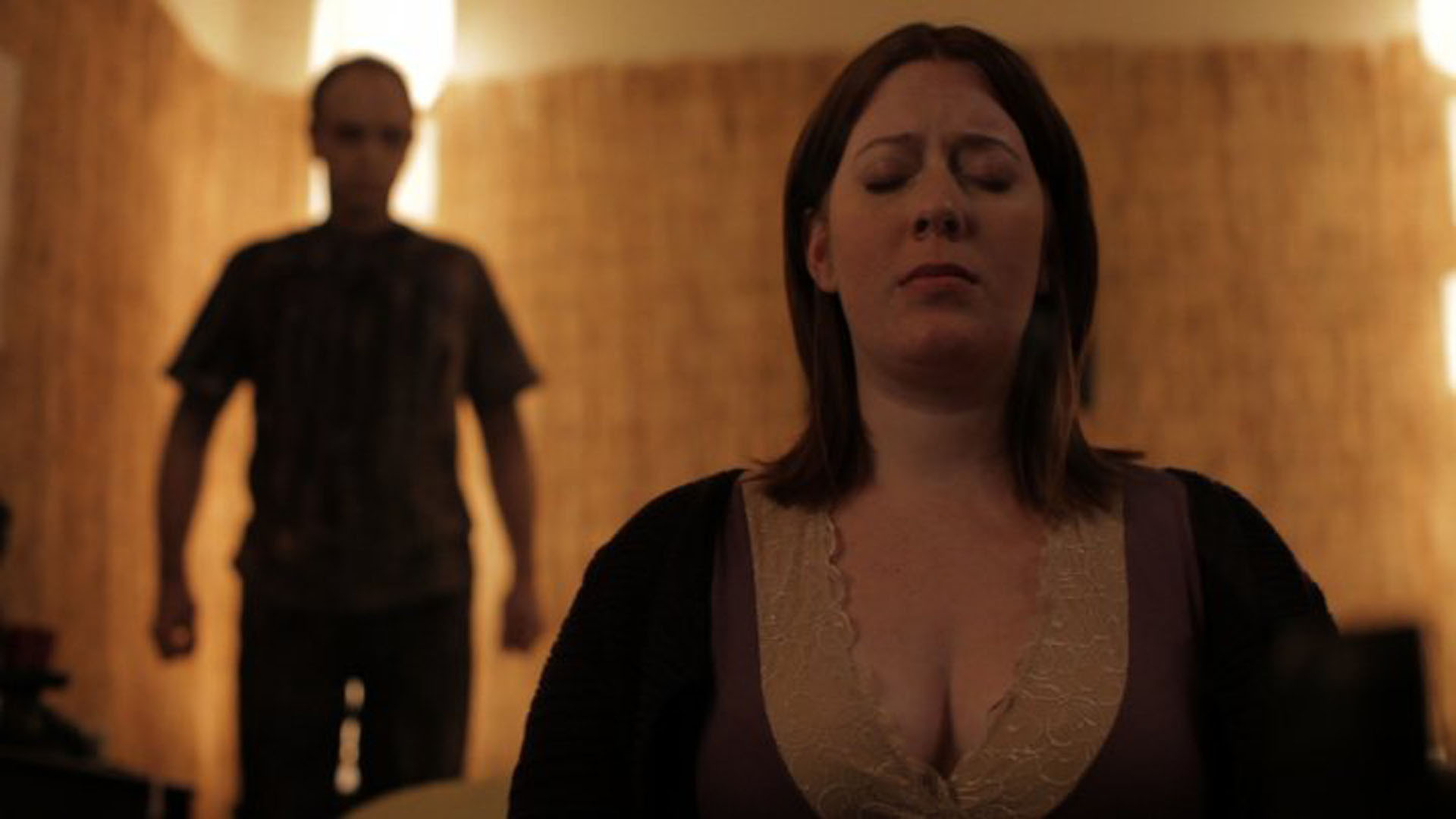 Morgan Peter Brown reappears to Courtney Bell in Absentia (2011)