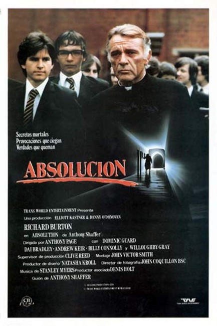 Absolution (1981) poster