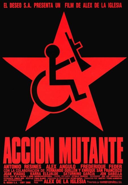 Accion Mutante (1993) poster