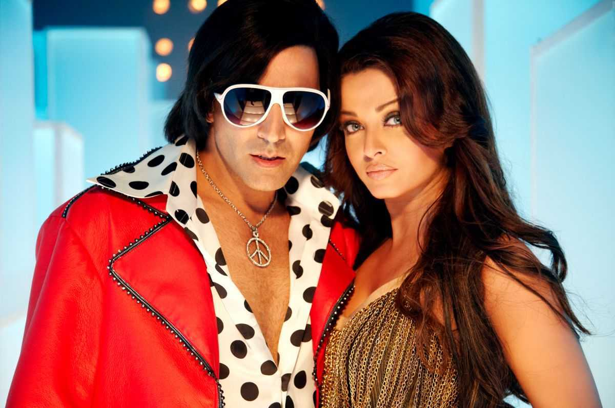 Akshay Kumar and Aishwarya Rai Bachchan in Action Replayy (2010)